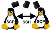 SCP via SSH